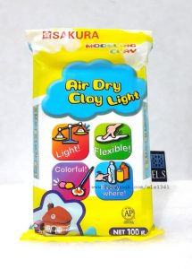 SAKURA_Air_Dry_Clay_Light