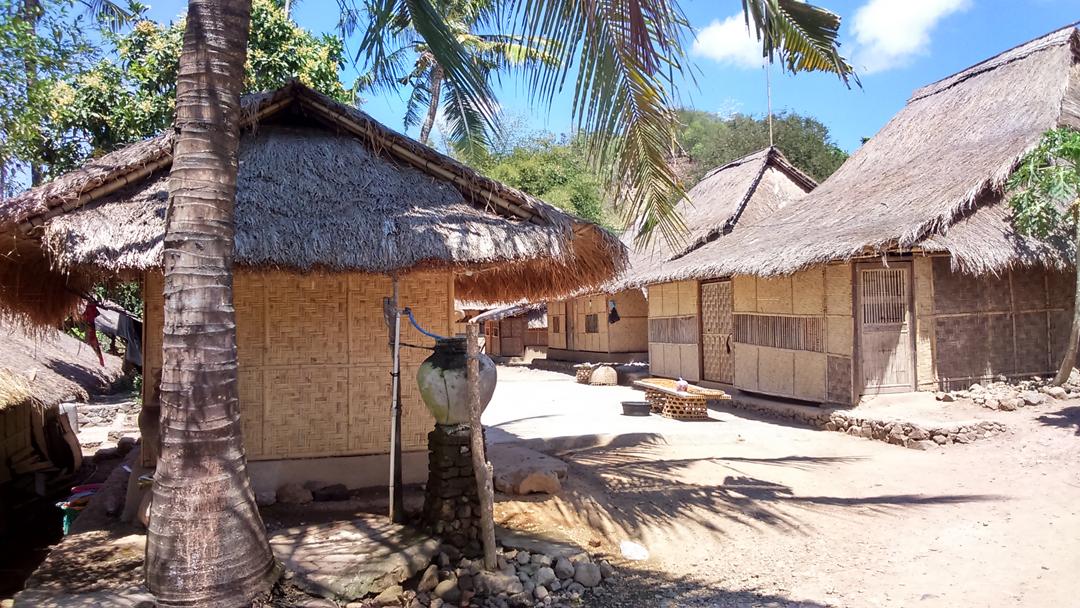 Desa adat Sasak Ende Lombok Tengah