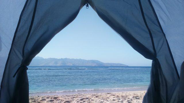 Camping di Gili Trawangan