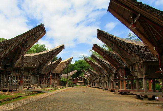 Kompleks Rumah Tongkonan di Kete Kesu Tana Toraja