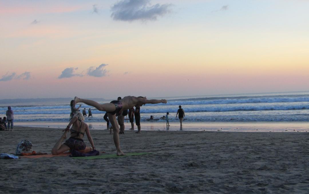 yoga di kuta bali